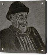 Old Man Laughing Acrylic Print