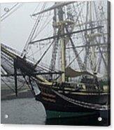 Old Massachusetts Sailing Ship Acrylic Print