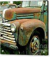Old Mercury Truck Acrylic Print