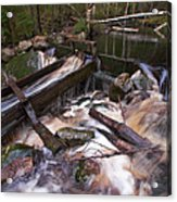 Old Mill Canal Acrylic Print