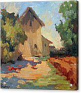 Old Mill Provence Acrylic Print