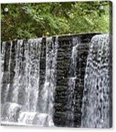 Old Mill Waterfall Acrylic Print