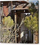Old Miner's Cabin Acrylic Print