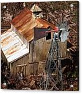 Old Mining Camp Acrylic Print