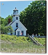 Old Mission Point Lighthouse 5306 Acrylic Print by Michael Peychich