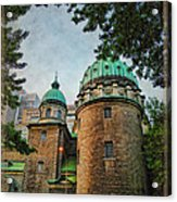 Old Montreal Church Acrylic Print