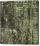 Old Oriental Story Acrylic Print