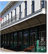 Old Pacific Hotel . San Jose California . 7d13019 Acrylic Print