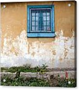 Old Paint Old Wall New Mexico Acrylic Print
