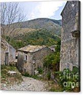 Old Perithia  Corfu  Greece Acrylic Print