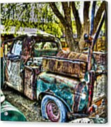 Old Pickup Acrylic Print