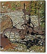 Old Plow Acrylic Print