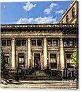Old Post Office Morgantown Wv Acrylic Print
