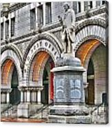 Old Post Office Pavillion Washington Dc Acrylic Print