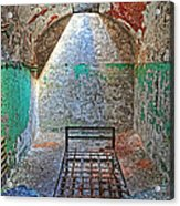 Old Prison Cell Acrylic Print