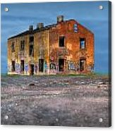 Old Ruined House Acrylic Print