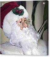 Old Santa Claus Acrylic Print
