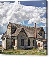 Old Schoolhouse - Ovid - Idaho Acrylic Print