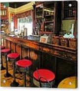 Old Soda Shoppe Acrylic Print by Joyce Kimble Smith