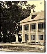 Old Southern Plantation Acrylic Print