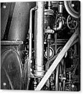 Old Steam Acrylic Print