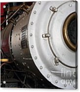 Old Steam Locomotive Engine 5 . The Little Buttercup . 7d12921 Acrylic Print
