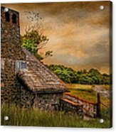 Old Stone Countryside Acrylic Print