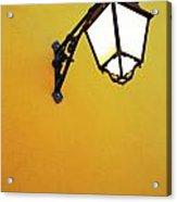 Old Street Lamp Acrylic Print by Carlos Caetano