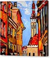 Old Tallinn Acrylic Print