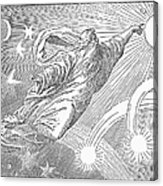 Old Testament: God Acrylic Print