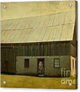 Old Textured Barn Acrylic Print