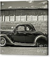 Old Time Class Acrylic Print