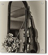 Old Time Music Acrylic Print