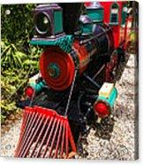 Old Time Train Acrylic Print