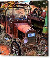 Old Times Acrylic Print