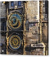 Old Town Hall Clock Acrylic Print