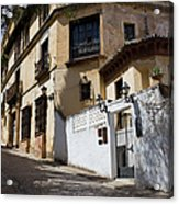 Old Town In Ronda Acrylic Print