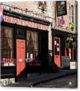 Old Towne Dining Acrylic Print