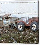 Old Toys II Acrylic Print