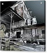 Old Train Station Acrylic Print