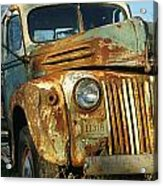 Old Tri-way Truck Acrylic Print