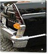 Old Volga Car Acrylic Print