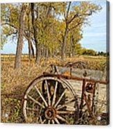 Old Wagon Acrylic Print