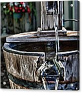 Old Water Pump Acrylic Print