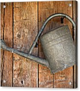 Old Watering Can Acrylic Print