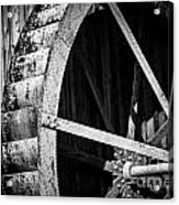 Old West Water Mill 2 Acrylic Print by Darcy Michaelchuk