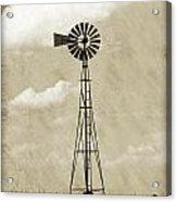 Old Windmill I Acrylic Print