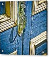 Old Wood Door Acrylic Print