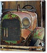 Old Work Horse Acrylic Print