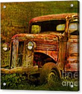 Olde But Not Forgotten Acrylic Print